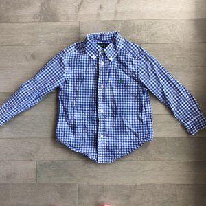 Ralph Lauren button down Oxford shirt 3T EUC